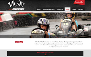 GoKart Family Entertainment - responsive design