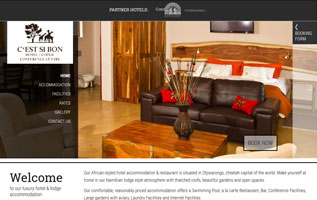 hotel website design