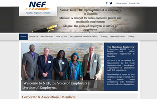 Namibian Employers Federation website